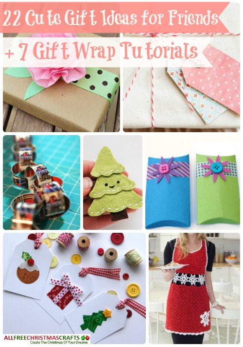 craft ideas for gifts for friends 22 gift ideas for friends 7 gift wrap tutorials 7570
