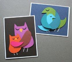 Momma Bird Loves Baby Bird Card