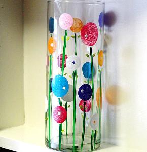 Spring has Sprung Flower Vase